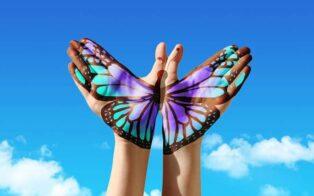 طرح تاتو پروانه