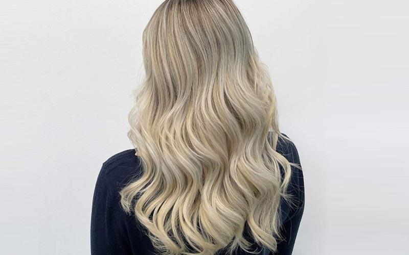 ترکیب رنگ موی بژ