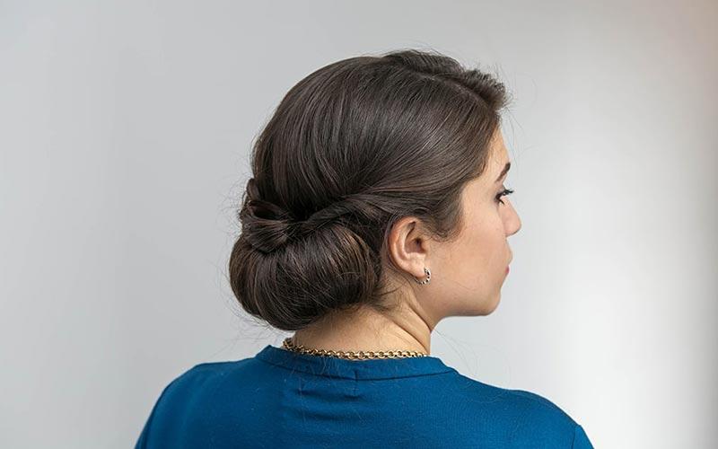 مدل بستن مو دخترانه