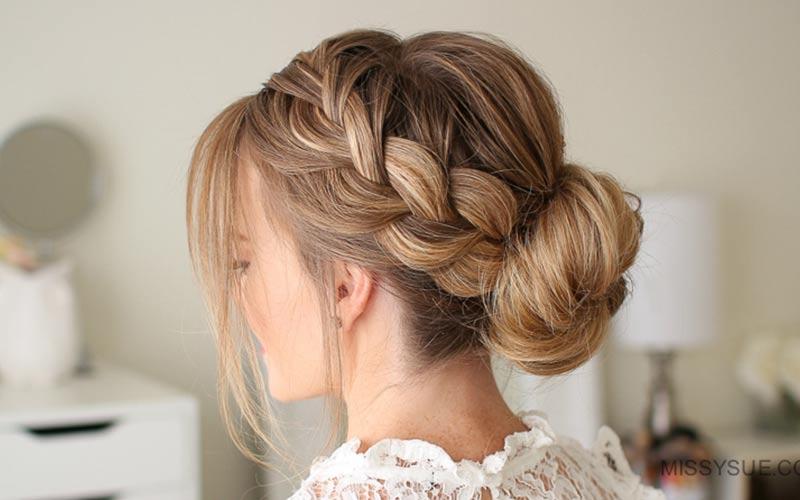 مدل بستن مو برای عروسی