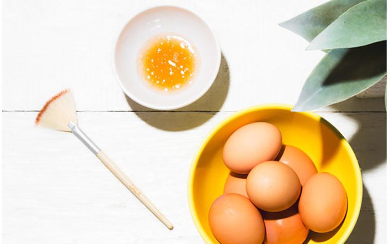کلاژن سازی پوست با سفیده تخم مرغ