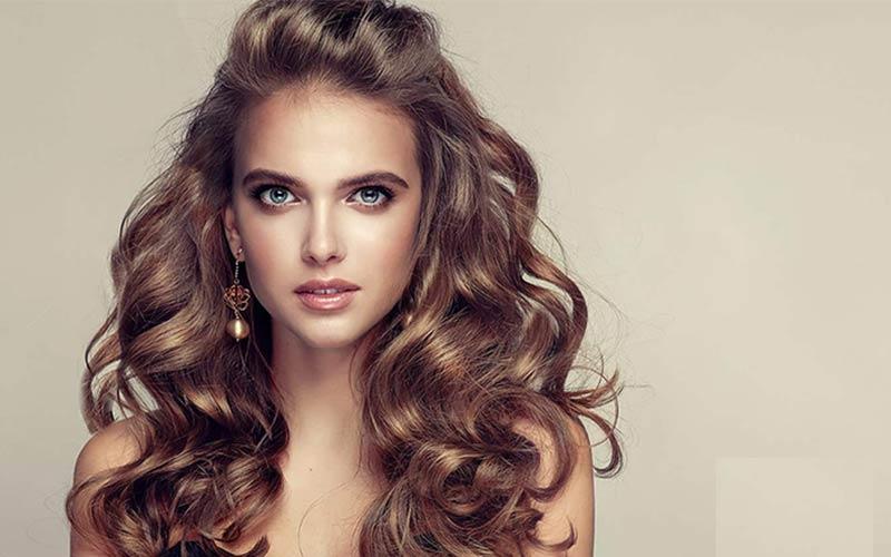 آموزش مدل موی باز در خانه