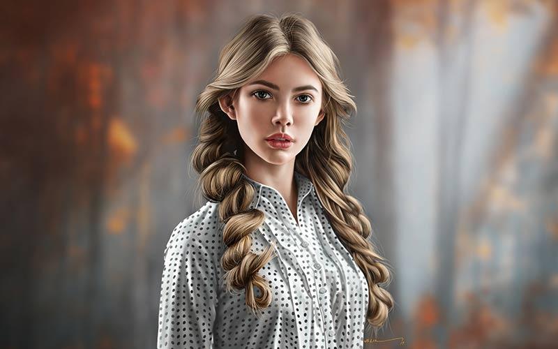 مدل مو دخترانه دو طرفه