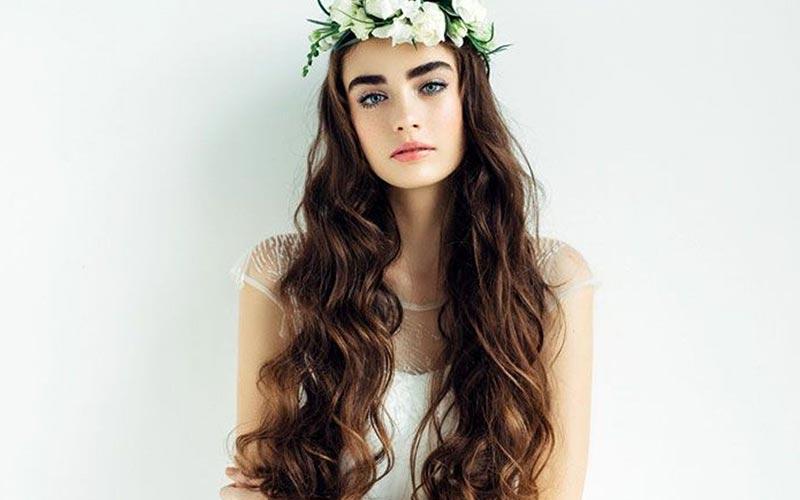 مدل موهای موج دار و بلند