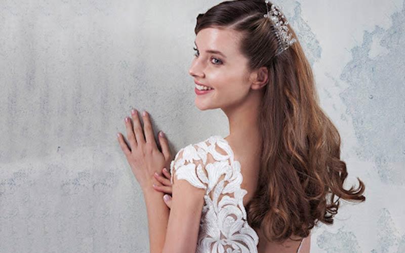 ایده ساده شینیون عروس