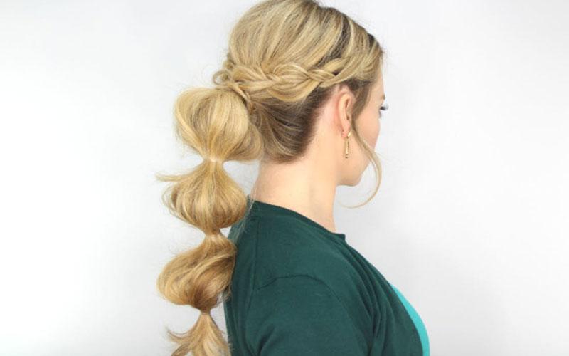 مدل مو دخترانه آسان
