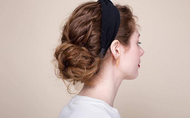 مدل مو دخترانه آسان برای خانه
