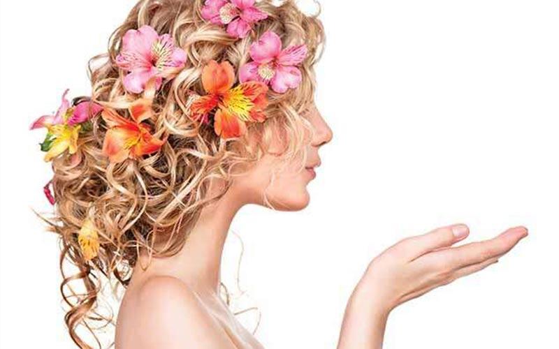 ایده مدل موهای فر دخترانه