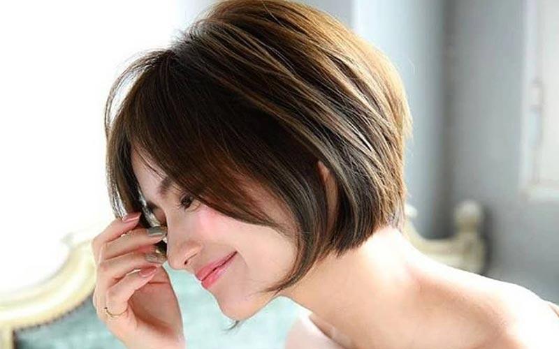 مدل موی دخترانه لایه ای