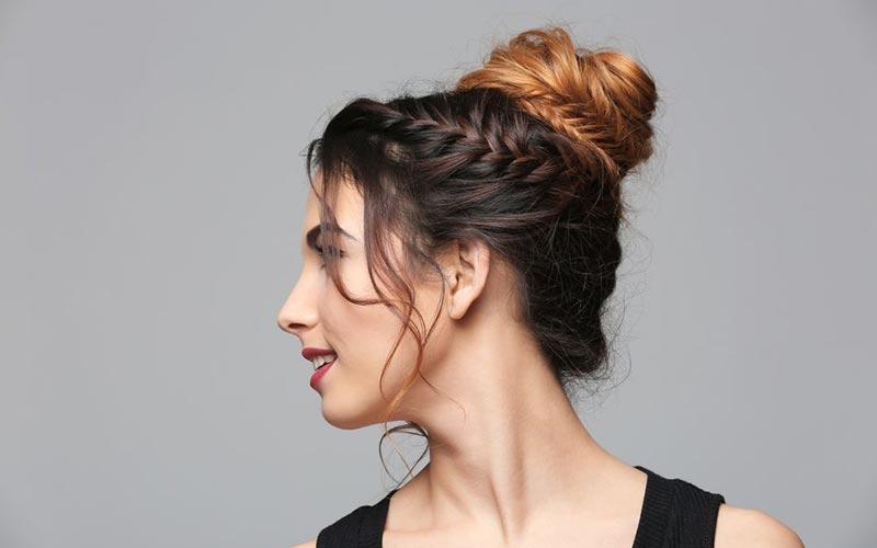 مدل مو دخترانه گوجه ای