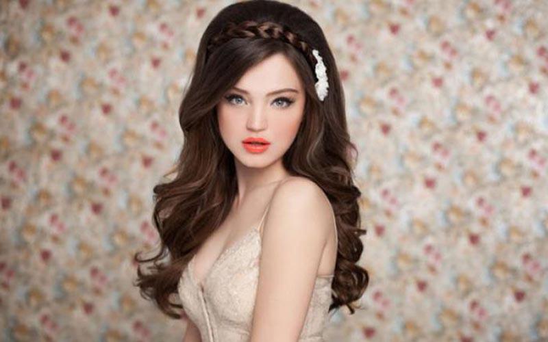 مدل موی باز برای موهای پرپشت و سنگین