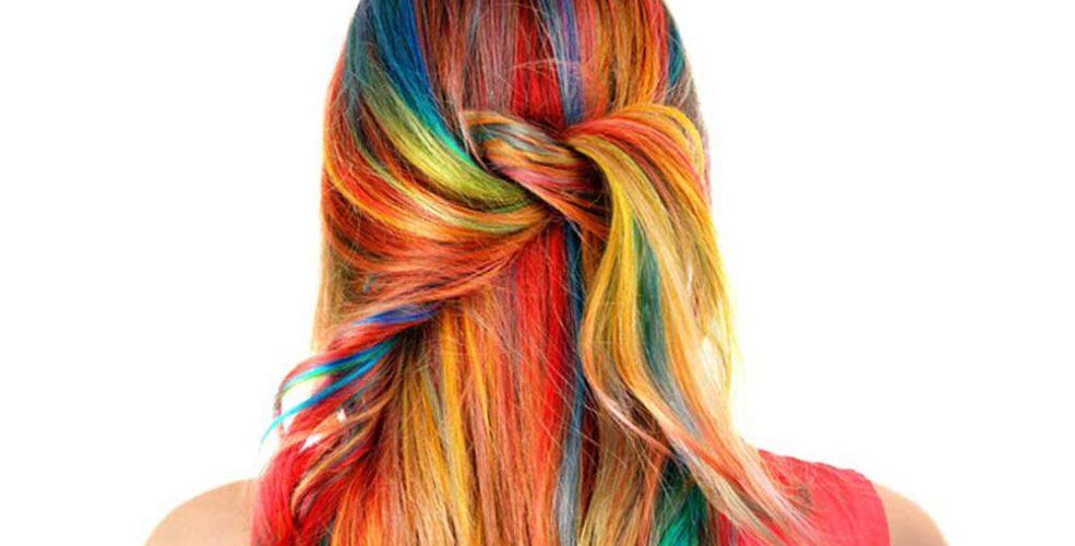 اسپری رنگ مو موقت