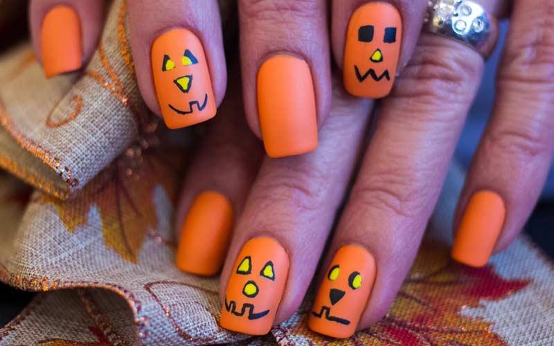 ژلیش ناخن هالووین