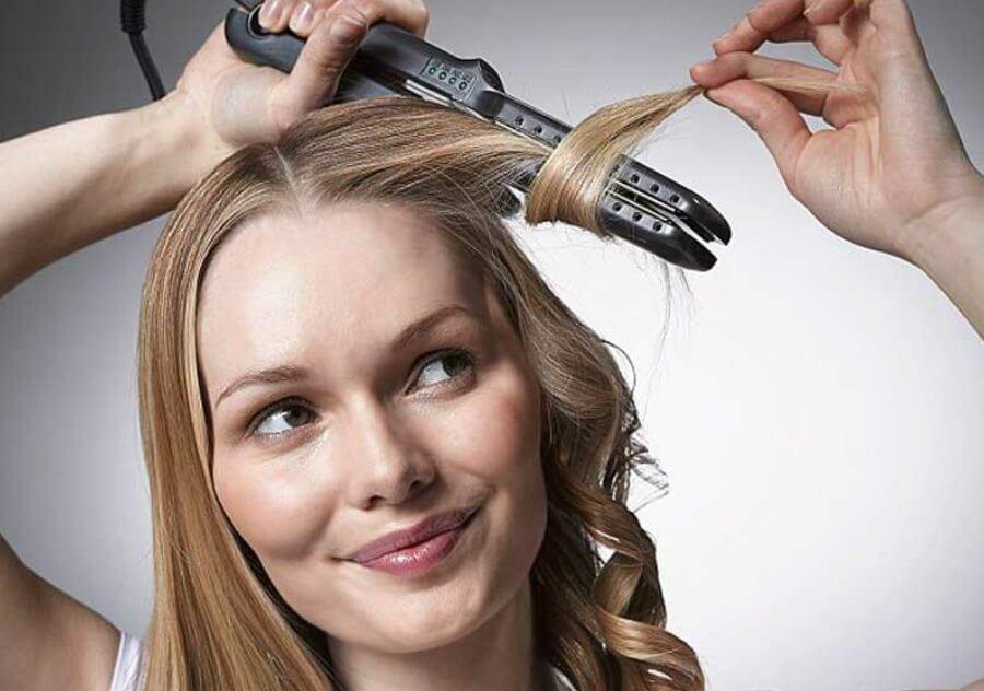 طرز استفاده از اتو مو