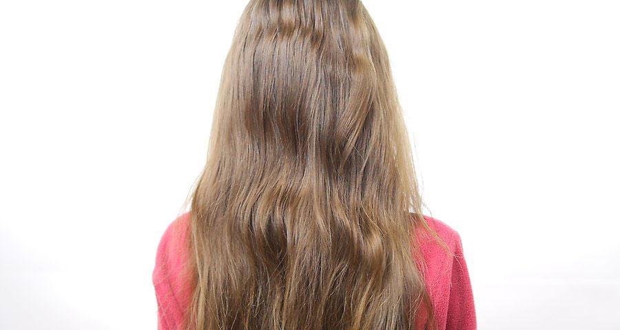 باز کردن و شستن موها