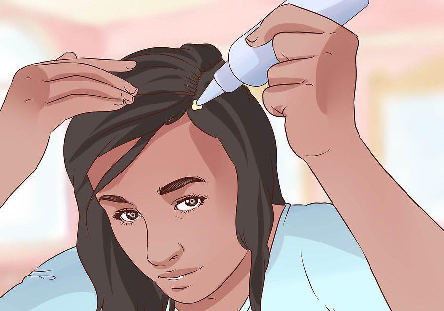 برای حل کردن نخ از محصولات موی خاص استفاده کنید