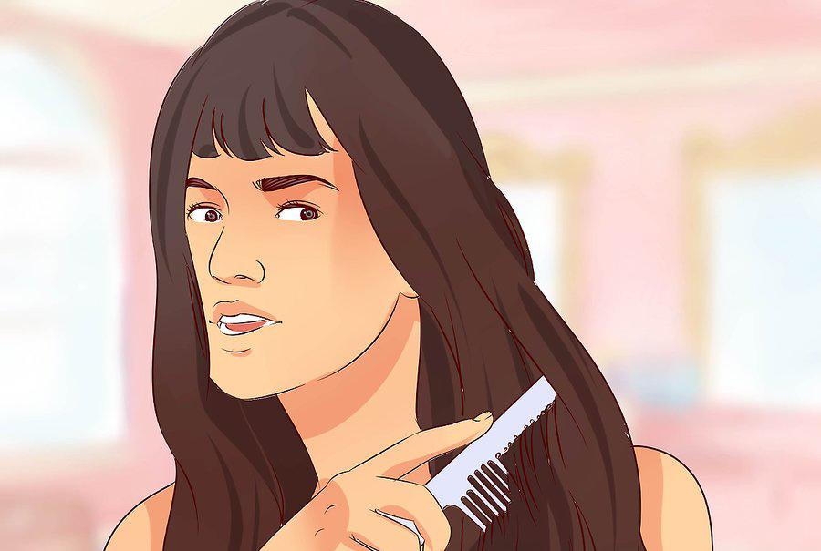 موهای طبیعی خود را شانه کنید