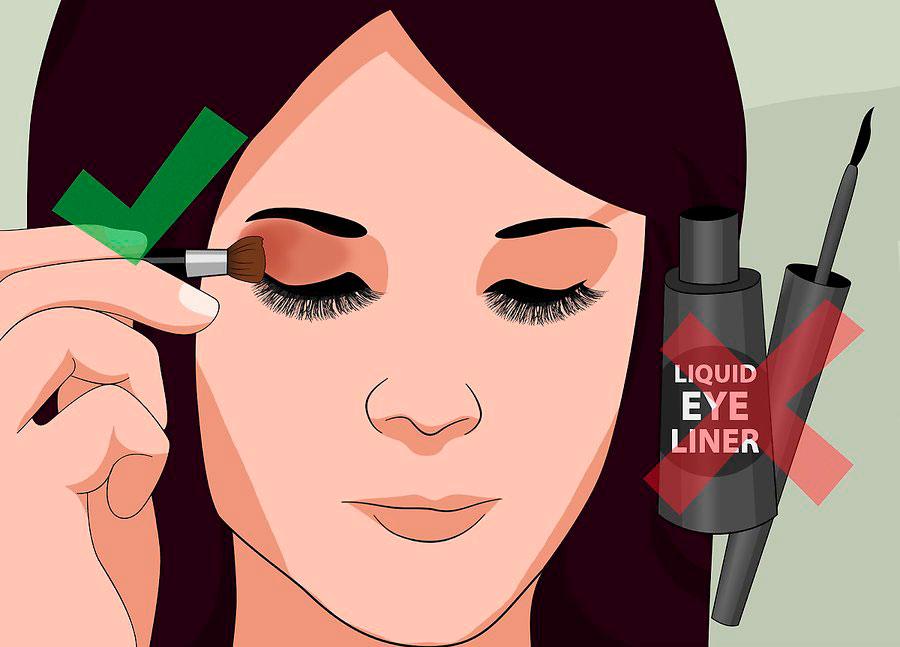 آرایش دقیق چشم ها