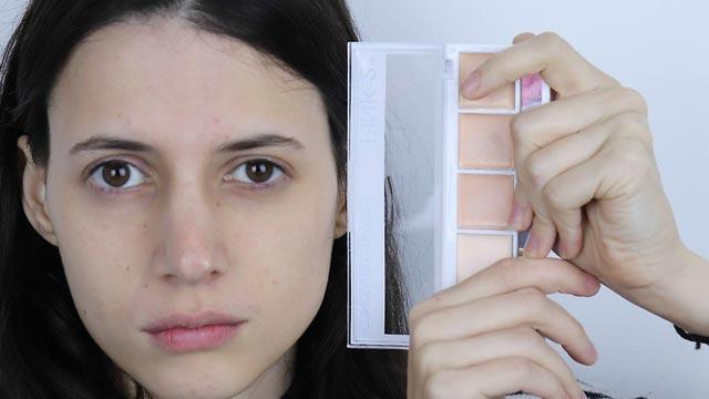 استفاده از کانسیلر منطبق با پوست