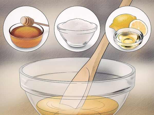 ترکیب مواد برای اپیلاسیون با عسل
