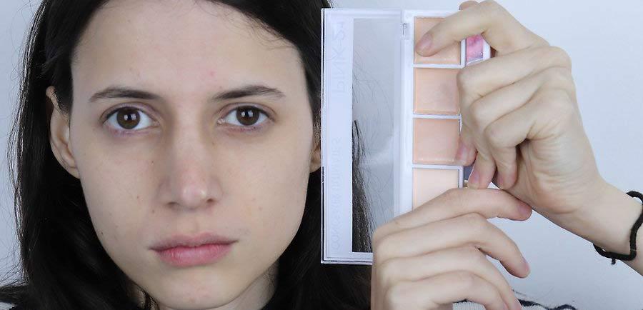 قبل از اینکه کانسیلر را بر روی پوست اعمال کنید، آن را با تن پوستی خود منطبق سازید