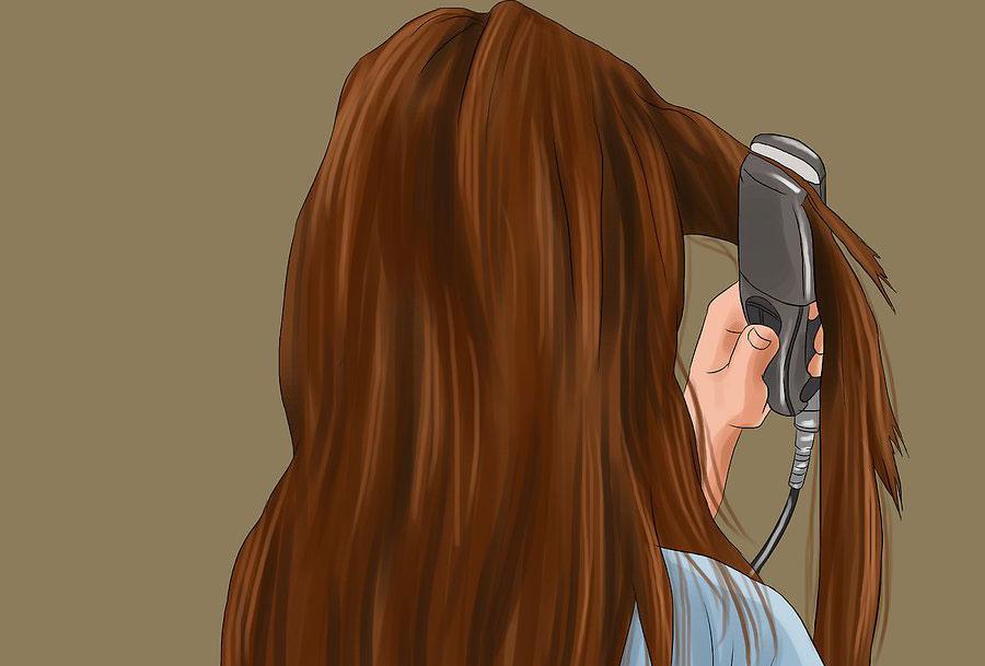 تکرار مراحل نصب اکستنشن مو
