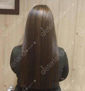 هایلایت موی بلند