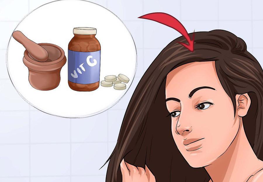 از ویتامین C استفاده کنید