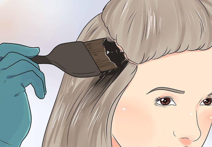 از رنگ کردن پوست سر اجتناب کنید