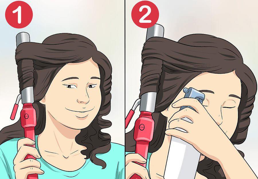 فر کردن موها برای ایجاد ظاهری طبیعی تر