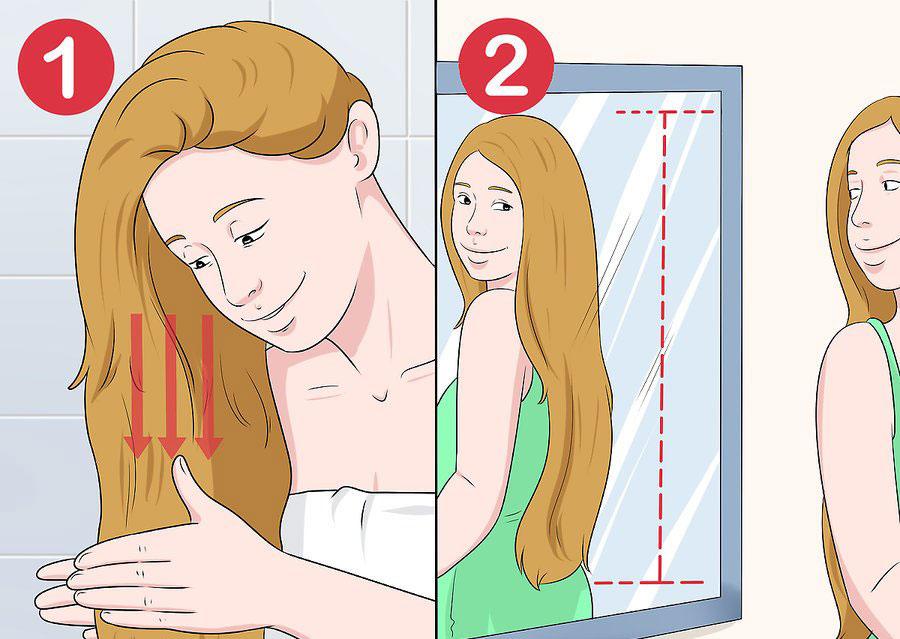نرم کردن موی اکستنشن