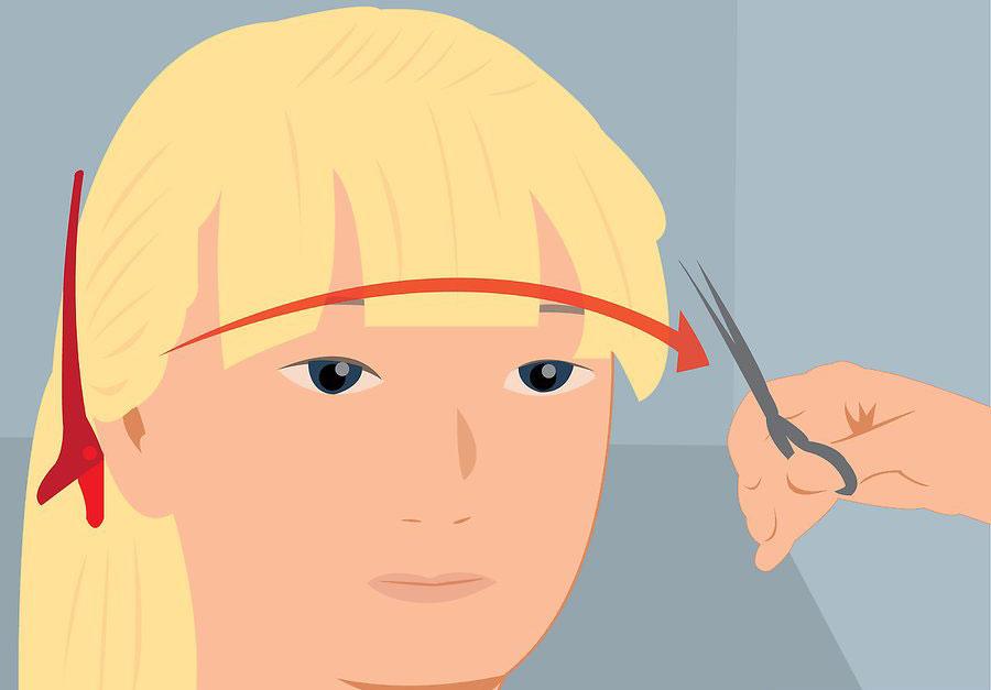 ایجاد خط منحنی چتری مو