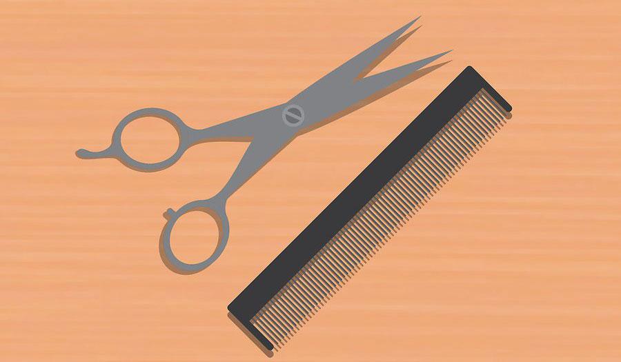 استفاده از قیچی تیز
