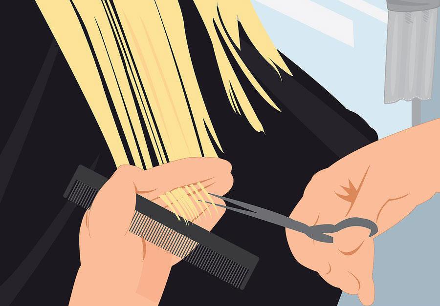 کوتاه کردن پشت موها