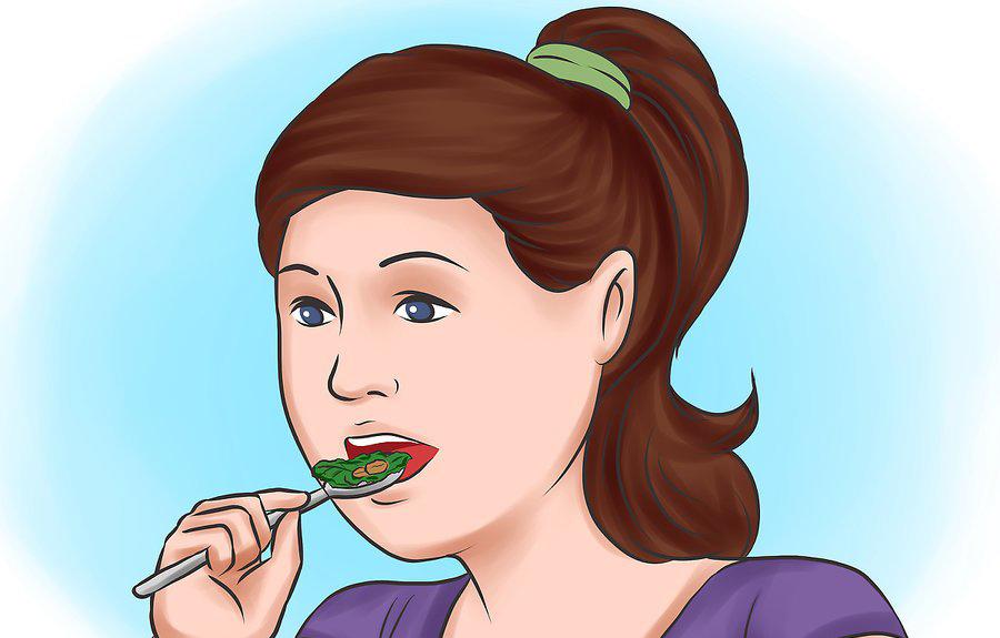 گرفتن رژیم غذایی متعادل