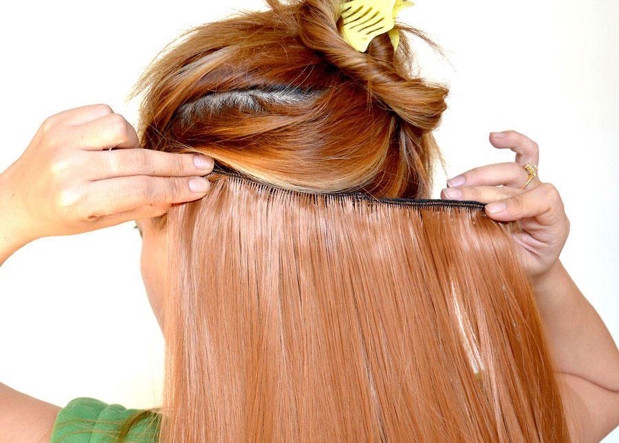 جایگزین کردن اکستنشن مو