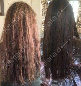 کراتینه نانو گلوبال موی آسیب دیده