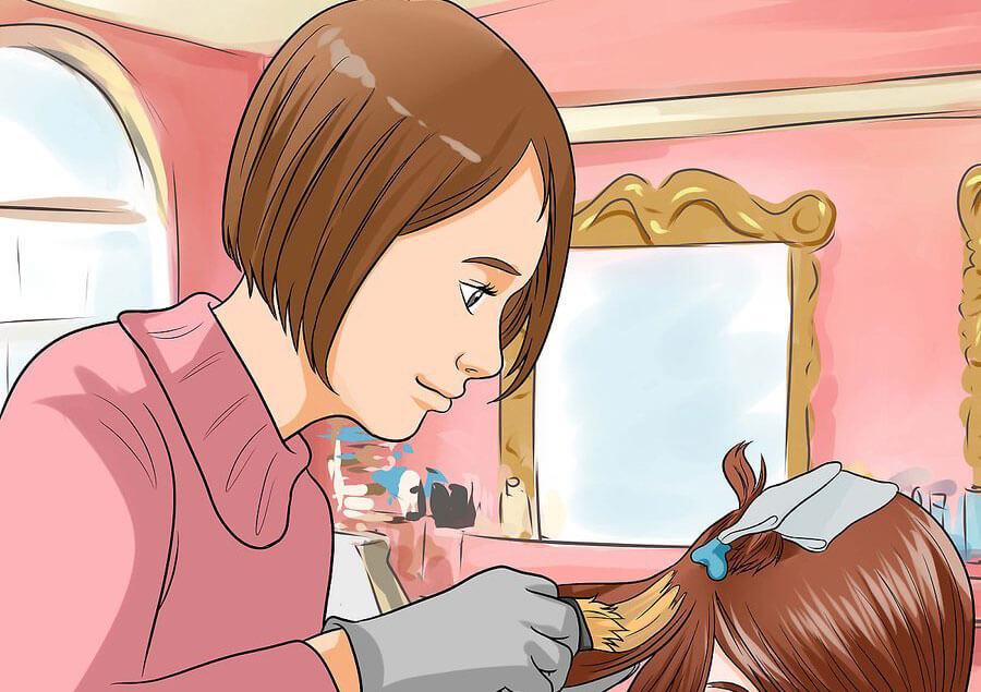 روش دو رنگ کردن مو