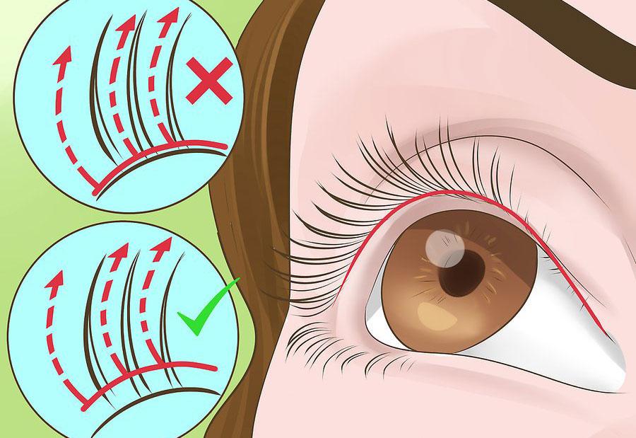 در نزدیکی پایه چشم ریمل نزنید