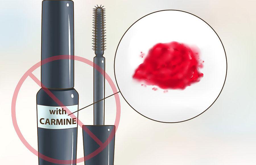 از خرید ریمل های حاوی کارمین(Carmine) برای ریمل زدن چشم های حساس خودداری کنید