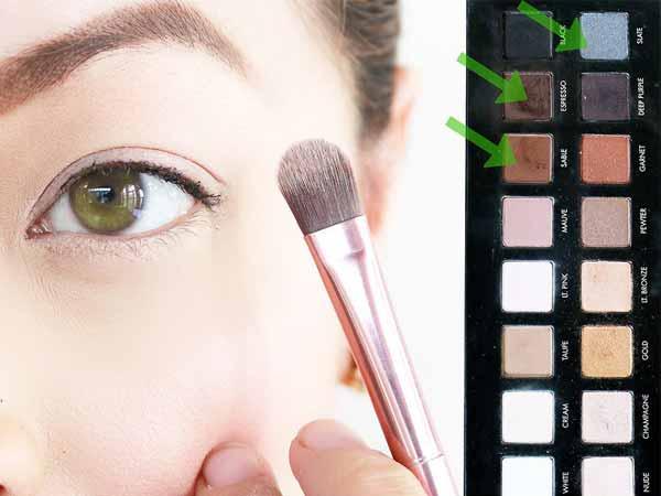 انتخاب سایه مناسب چشم سبز