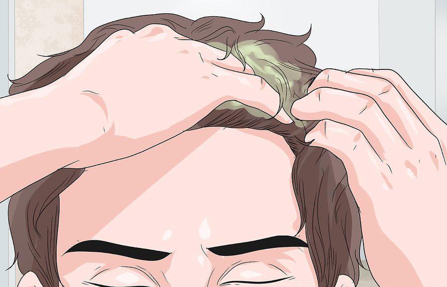 ژل را به موهای خود بزنید